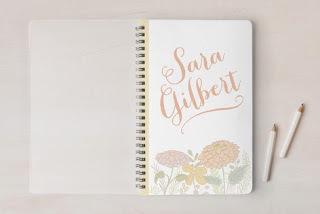 Non-candy Easter basket gifts personalized notebook