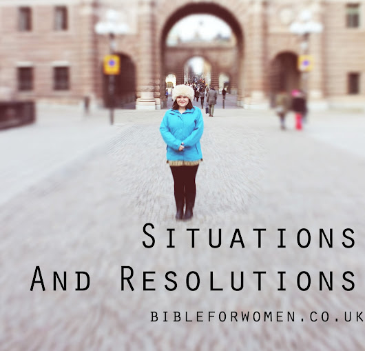 Situations and Resolutions