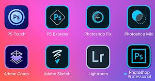 Adobe Photoshop terbaru, Aplikasi terbaik Editing Foto dan Gambar untuk IOS