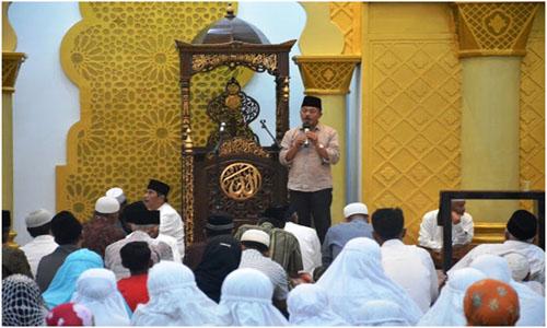 Wabup Zuldafri Darma Hadiri Peresmian Pemakaian Mushalla Umaimah Piliang