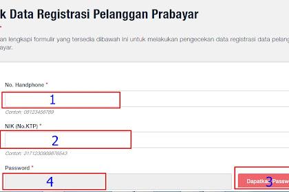 Cara Cek registrasi Kartu Telkomsel online