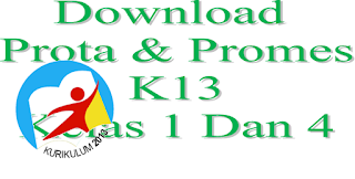 Guru File : Download Program Prota Dan Promes Kurikulum 2013 Kelas 1 Dan 4 SD/MI Terbaru