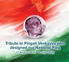 Pingali Venkayya:141st birth anniversary