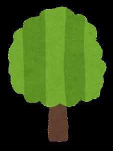 シンプルな木のイラスト3