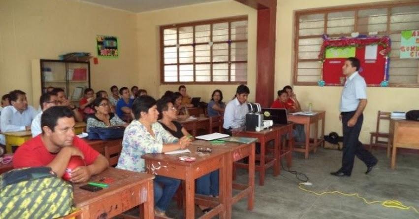 UGEL Tocache capacita a docentes de instituciones educativas - DRE San Martín - www.dresanmartin.gob.pe