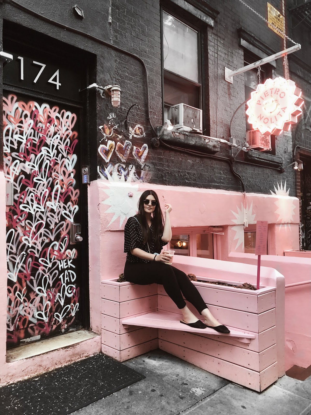 new york instagram places guide food spots instagrammable worthy pink italian pietro nolita coffee cafe dr smood tacombi cupcake bakeshop little italy manhattan tour gregorys chacha matcha 2