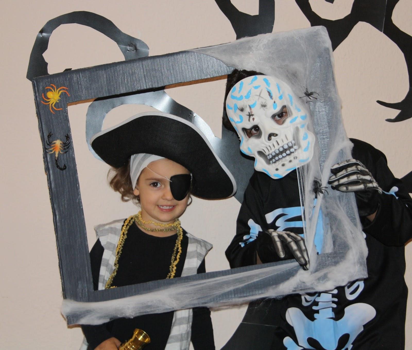 decoracin halloween marco para un photocall terrorifico