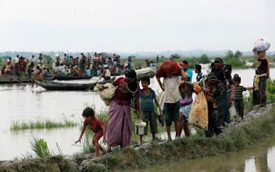 muslim rohingya mengungsi
