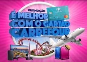 Promoção Carrefour Cartão É Melhor Com o Cartão Carrefour - Viagens Orlando