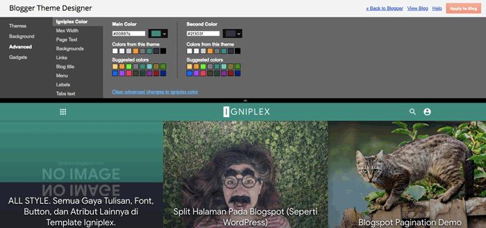 Download Template Igniplex Terbaru Premium