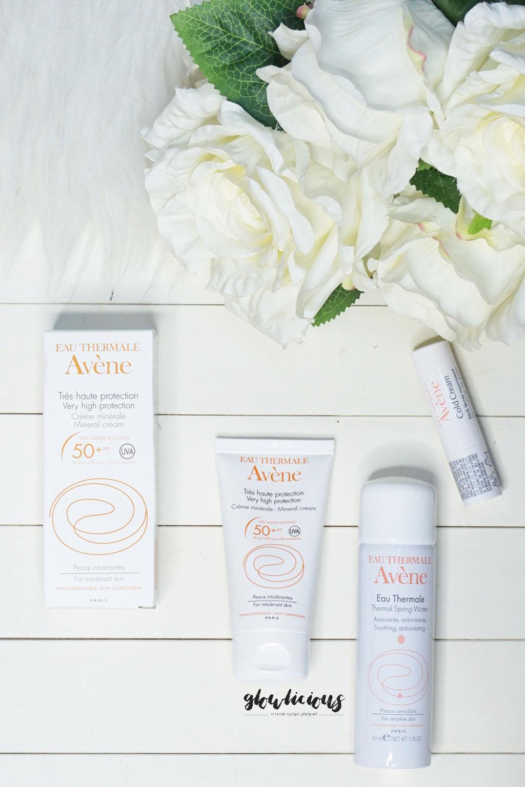 My New Favorit Product From Avene Indonesia - Avene Sunblock, Lip Balm, Face Spray
