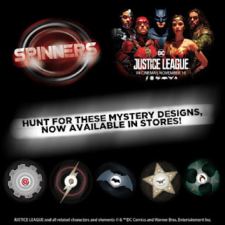 Justice League Spinners from 7-Eleven