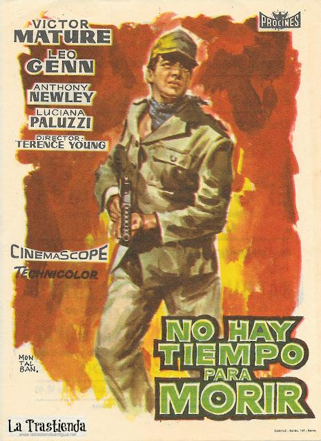 No Hay Tiempo para Morir - Programa de Cine - Victor Mature - Leo Genn - Luciana Paluzzi