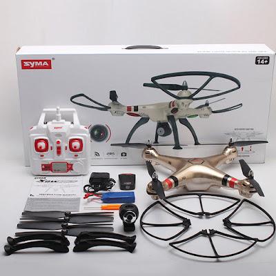 Spesifikasi Drone Syma X8HW - OmahDrones