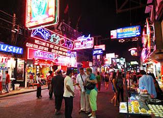 Pattaya Walking Street Food