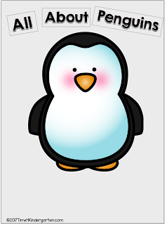 Penguin  books, videos and activities for kindergarten