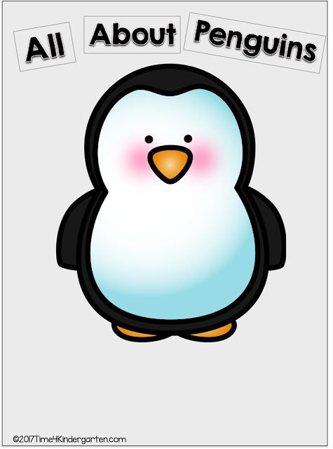 All About Penguins Anchor Chart: FREE Download
