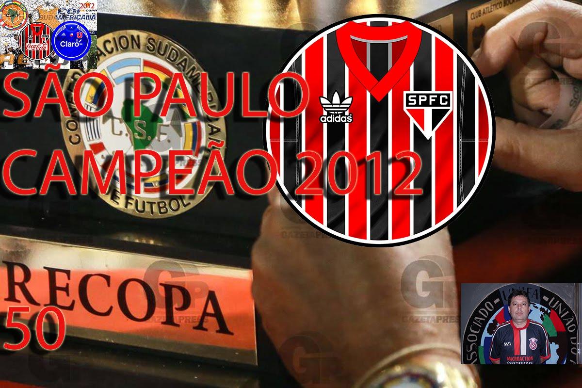 UNIFA: São Paulo campeão da Recopa Sul Americana 2012