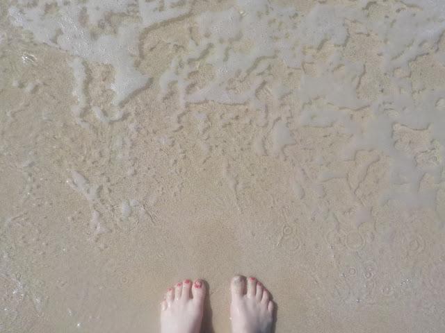 Dubain hiekkarannat ja vesi