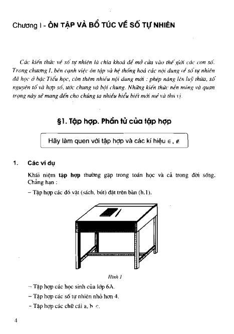 Trang 5 sach Sách giáo khoa Toán 6 Tập 1