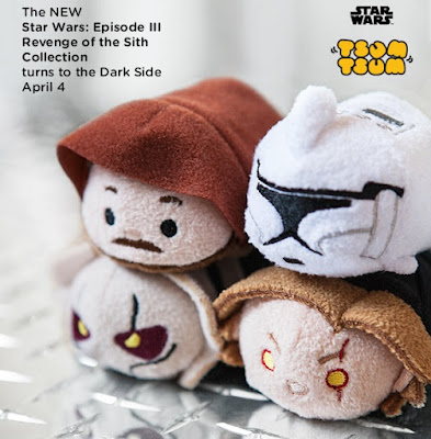 Star Wars: Revenge of the Sith Tsum Tsum Plush Collection by Disney