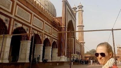 masjid jama delhi india