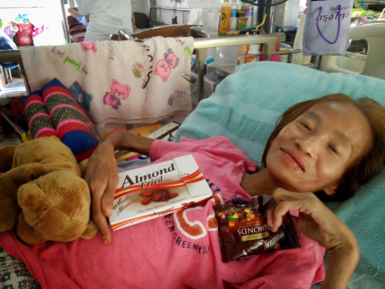 Buddy voor aidspatiënten in Thailand
