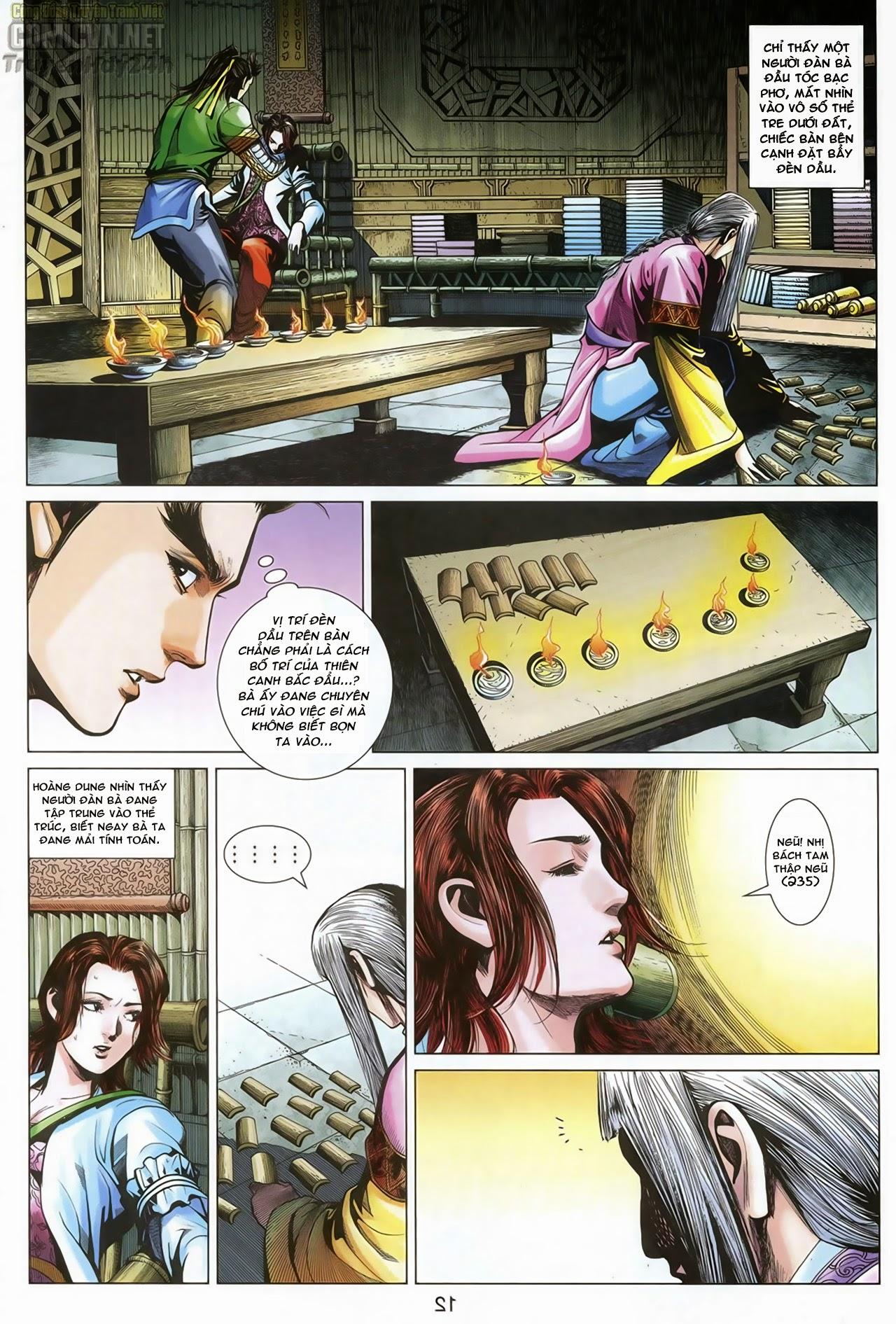 Anh Hùng Xạ Điêu anh hùng xạ đêu chap 70: hắc chiểu ẩn nữ trang 13