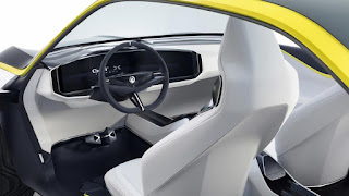 Vauxhall GT X concept interior