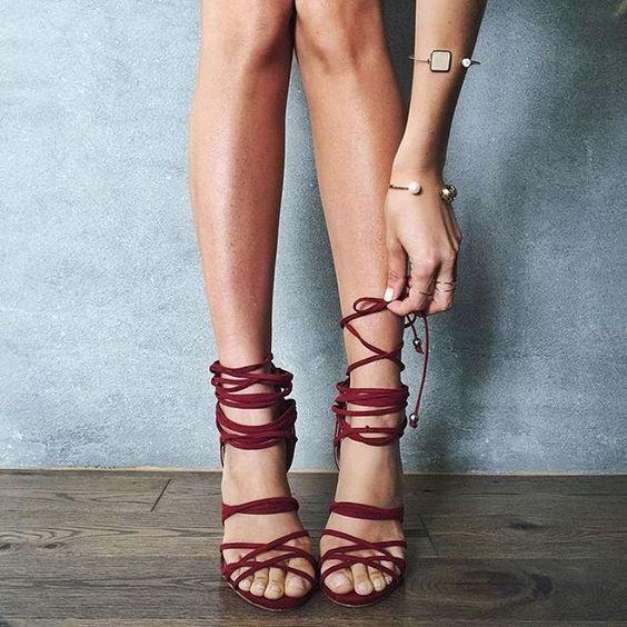 Crush Lace Rock Shoe