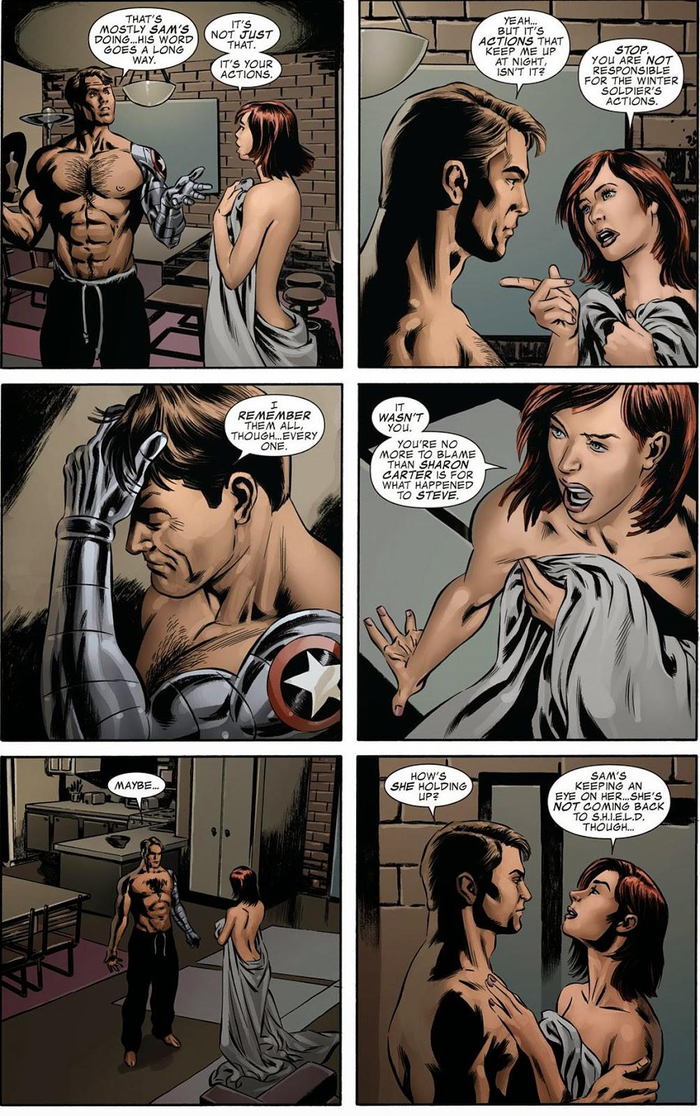 black widow sexy - Sexy Winter Soldier (and Black Widow!)