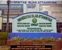 Info Pendaftaran Mahasiswa Baru ( UNIAT ) Universitas Islam Attahiriyah