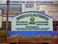 Pendaftaran Mahasiswa Baru ( UNIAT ) 2020-2021