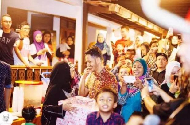 Isteri Datuk Aliff Syukri Buat Kejutan Hari Jadi