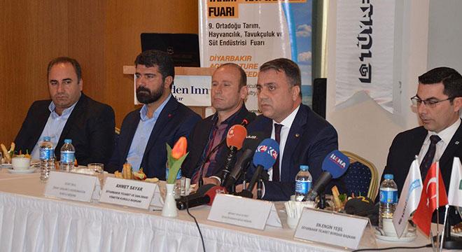 Diyarbakır'da tarım ve hayvancılık fuarı açılıyor