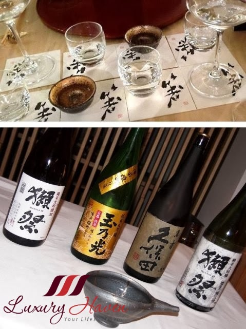 hashi japanese restaurant sake pairing dining event