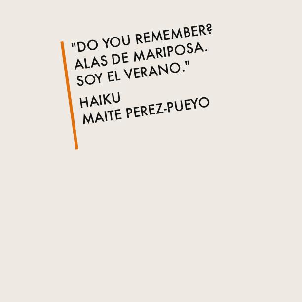[Haiku] Alas de Mariposa