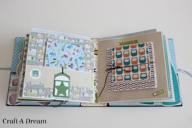 erkek-bebek-scrapbook-album