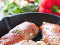 PROSCIUTTO WRAPPED CHICKEN BREASTS