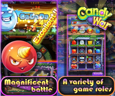 Download Candy War V1.5.5 MOD Apk [Enemy low damage] – Android Games