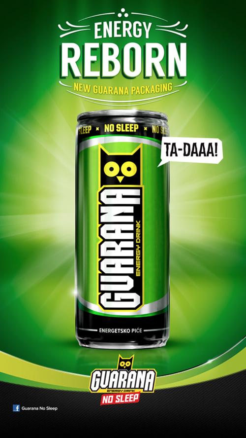 My Owl Barn Guarana Quot No Sleep Quot Energy Drink Design Packaging