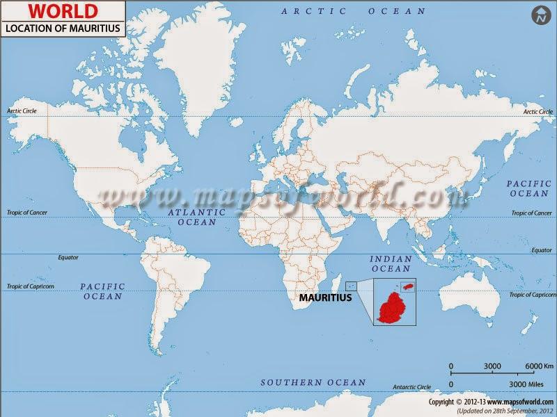 Matka Mauritiuksen Ympari Kolme Paivaa Lahtoon
