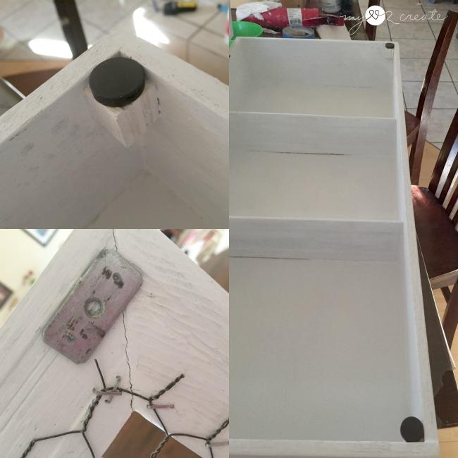 make your own magnetic door catch