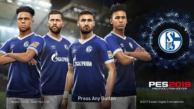Schalke 04 Start Screen PES 2017