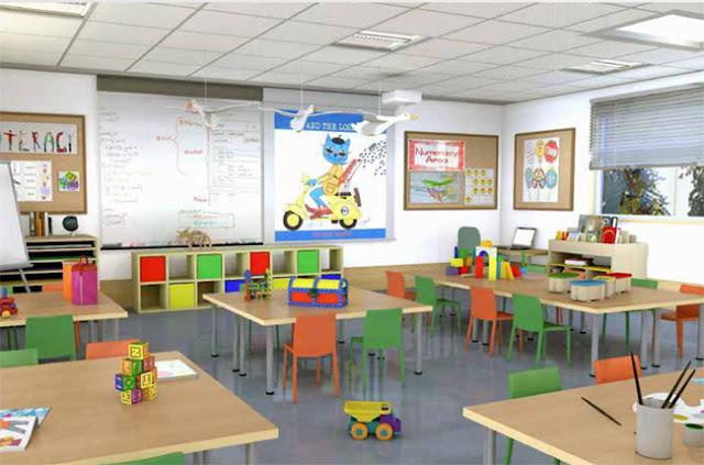 Trường học mầm non cho trẻ tại dự án Louis City