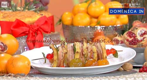 Domenica In - Lonza all'ananas ricetta Parodi