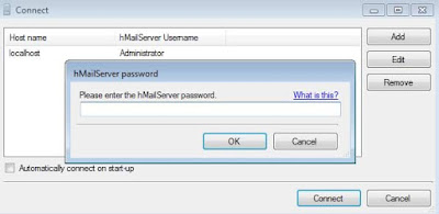 metti la password