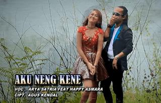 Lirik Lagu Aku Neng Kene - Happy Asmara