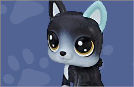 LPS French Bulldog Figures