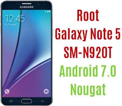 Root Galaxy Note 5 SM-N920T T-Mobile